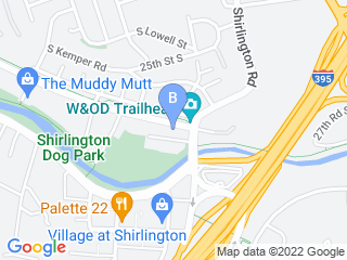 Map of The Board Hound Dog Boarding options in Arlington | Boarding